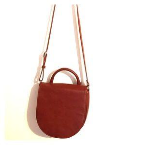 Matt & Nat red cross body purse